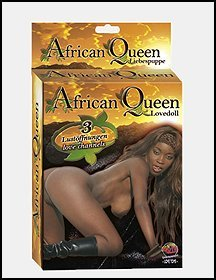 HA1315  African queen doll