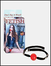 DJ7942  Red ball gag